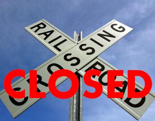 Auburndale, Lakeland Area, polk county, railroad closing, train tracks closed,