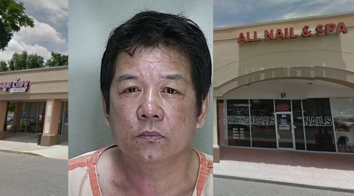 all nail & spa, ocala news, aggravated battery, marion county news,