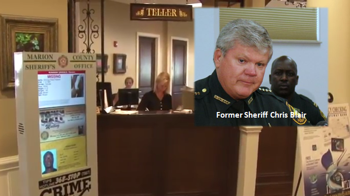 kiosk program, wanted kiosks, ocala news, marion county news, sheriff chris blair