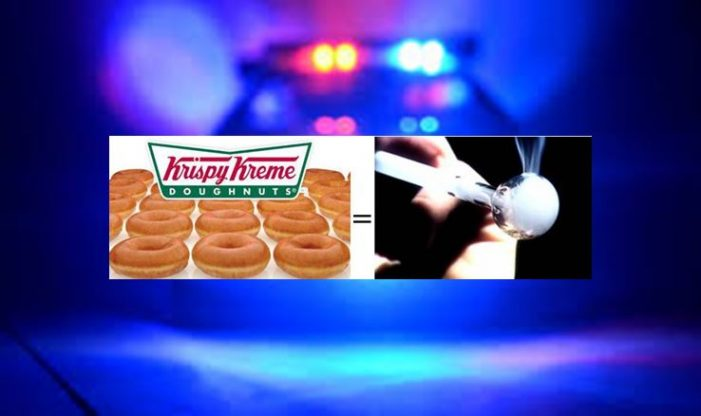 Cops could not tell the difference between Krispy Kreme glaze and meth