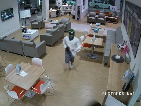 volkswagen of ocala video, thieves, grand theft auto, ocala news, vw dealership robbery