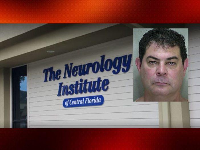 Local neurologist arrested