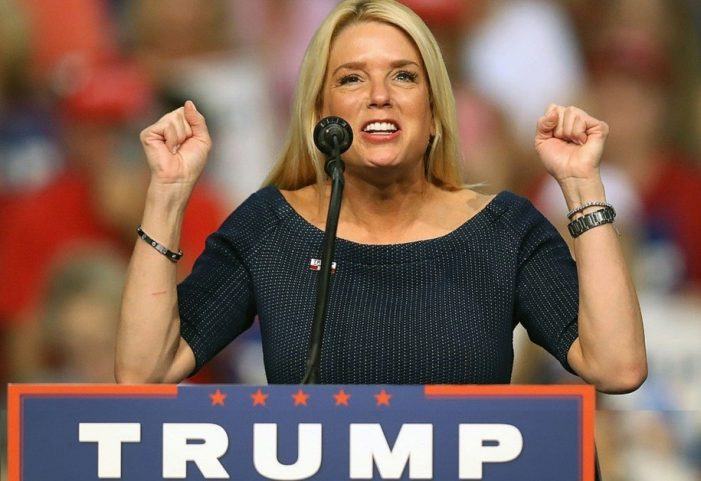 VIDEO – Florida Attorney General Pam Bondi makes Late Night TV as corrupt AG
