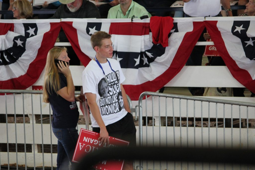 Ocala Post - Thousands attend Donald Trump rally, strong energy filled the pavillion