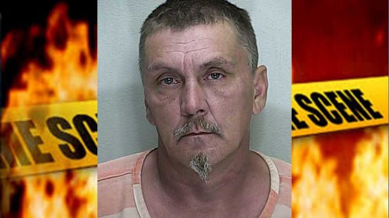 Man allegedly tried to burn down neighbor's house while she was home