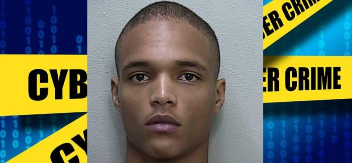 20-year-old charged with organized fraud