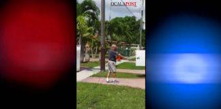 AT&T shooting, ocala news, ocala post, Hialeah, Hialeah florida, man shoots at&T trucks
