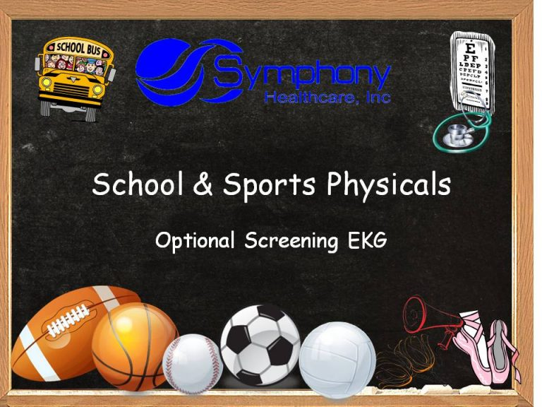 Back to school and sports physicals