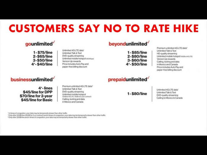 Verizon announces price hikes, customers say they are getting lower quality