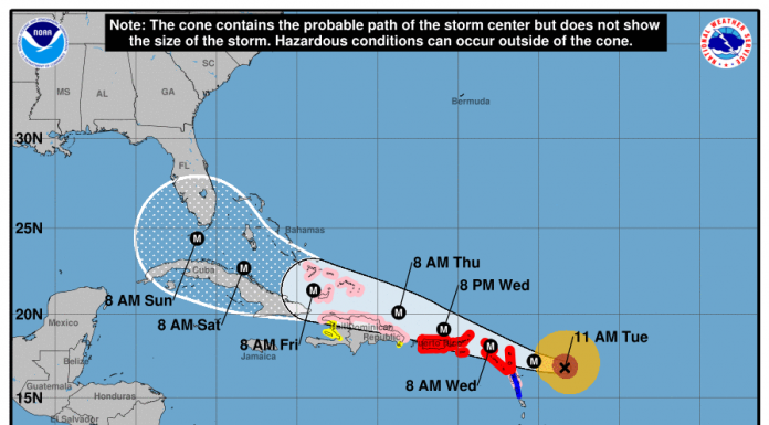Hurricane Irma - NOAA, ocala news, ocala post, marion county hurricane