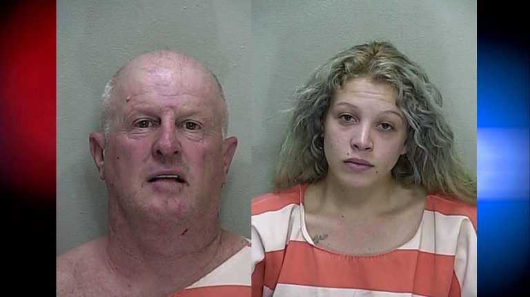 Daughter attacked father, both arrested