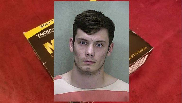 Student stalks ex-girlfriend, steals condoms and lube