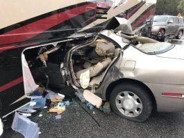 484 crash, car crash, rv crash, ocala post, ocala news