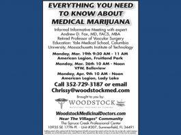 medical marijuana, ocala news, marijuana, marion county news, ocala post, Woodstock Medicinal Doctors