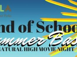 The End of School Bash and movie night