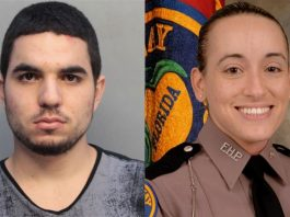Raumel Quntero (right) and Trooper Vanessa Franceschi, ocala post, ocala news, fhp