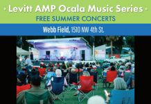 The Levitt AMP Ocala Music Series, ocala news, ocala events, free concerts, ocala post