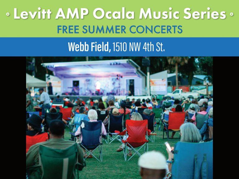 FREE concerts at the Levitt AMP Ocala Music Series