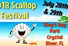 crystal river scallop, citrus county news, citrus gazette