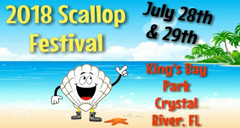 2018 Crystal River scallop festival