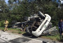 semi crash, ocala news, ocala post