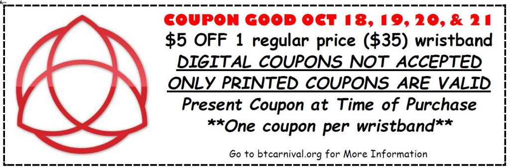 carnival coupon, blessed trinity carnival coupon, ocala news, events,