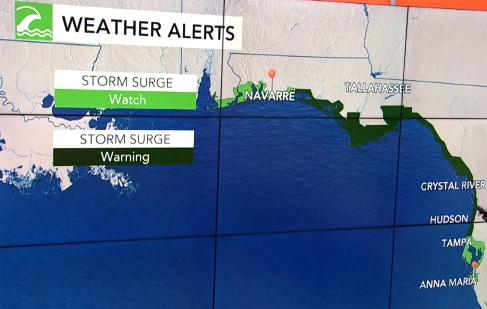 Hurricane Michael Storm Surge, ocala post, citrus county