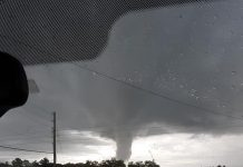 citrus gazette, funnel cloud, tornado