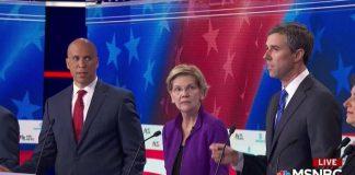 Beto O'Rourke, democratic debate, daily lash