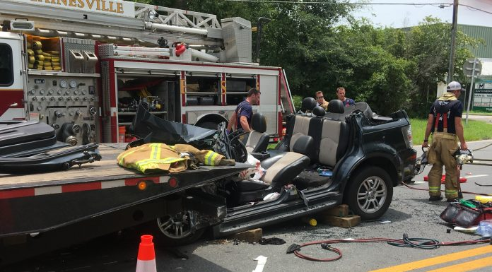gainesville news, gainesville accident, car crash
