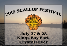 scalloping crystal river, scallop season, citrus gazette