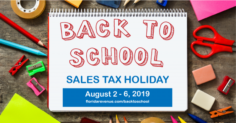 Back-to-school tax-free holiday