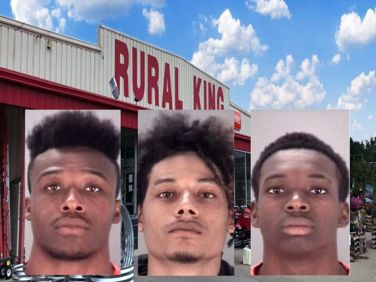 Warrants issued for three Rural King gun thieves