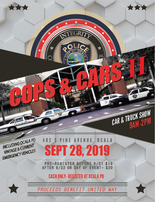 ocala police department, cops and car show, ocala news, ocala post