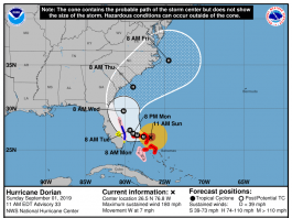 Dorian, hurricane dorian, hurricane, florida, accuweather,