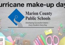 hurricane dorian makeup days, school make up days, ocala news, ocala post, marion county schools