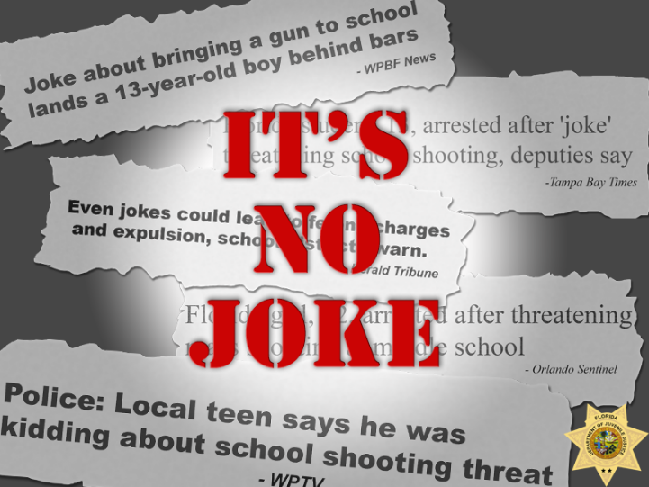 no joke, threats, ocala news, ocala post