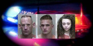 drug arrest, felons, traffic stop, toxic, meth