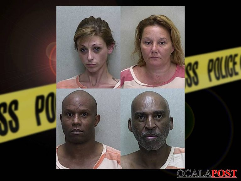 Drug raid yields four arrests