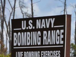 ocala-news, bombing, ocala post, navy bombing, ocala national forest