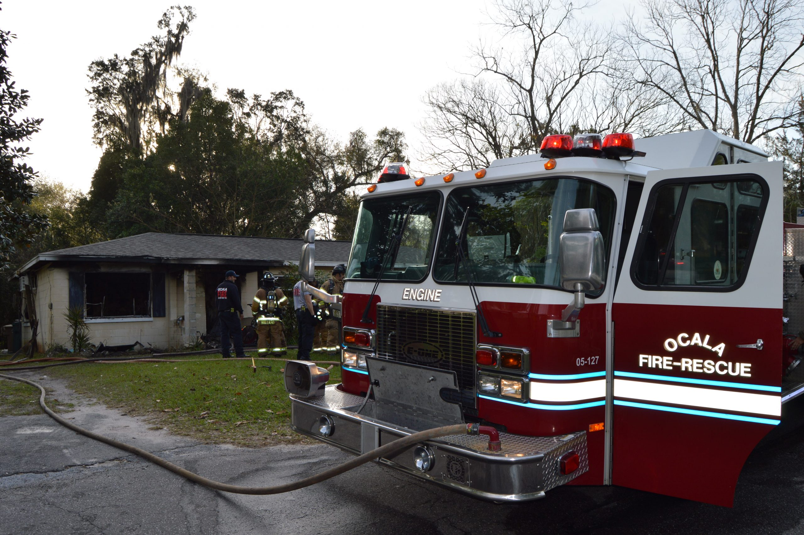 duplex fire, ocala-news, ocala post