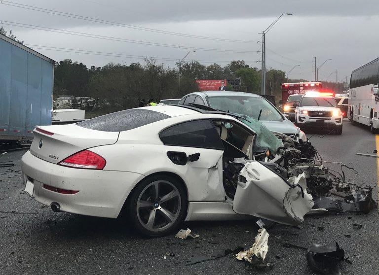 Update on mm 352 crash involving semi