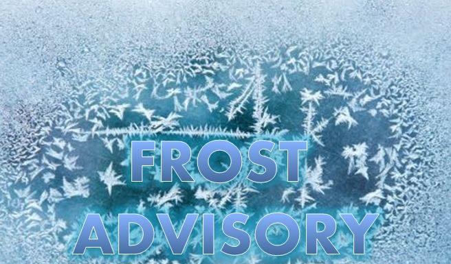 frost warning, freeze warning, ocala news, freeze warning marion county