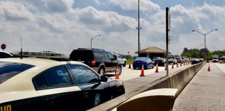Florida check point, covid-19, Ocala news, stay out