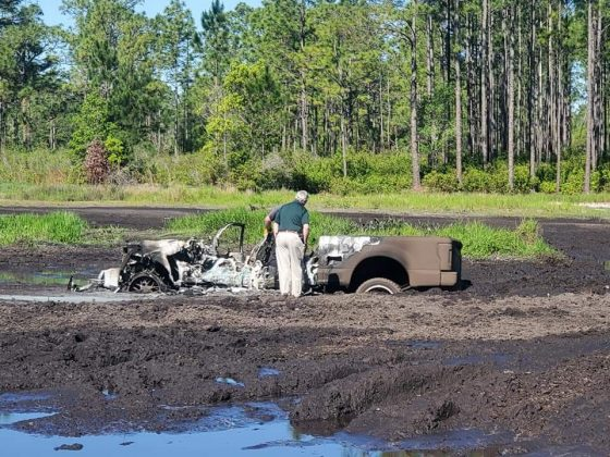 florida highlands, truck burned, ocala news, ocala post