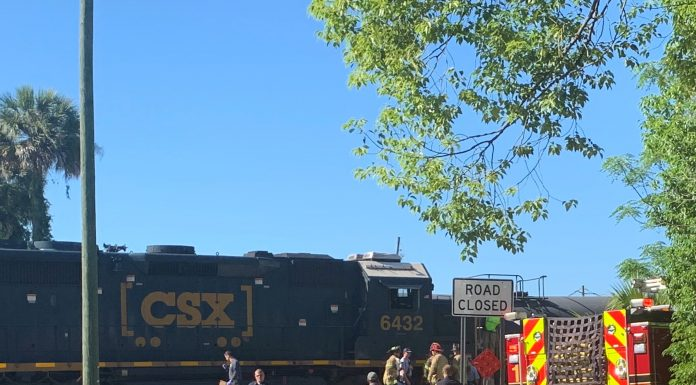 ocala news, ocala post, person hit by train ocala