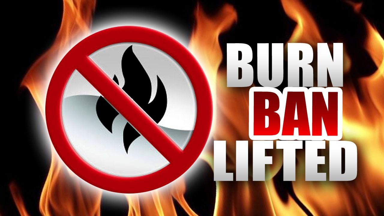 burn ban, burn ban lifted, marion county, ocala news, ocala post