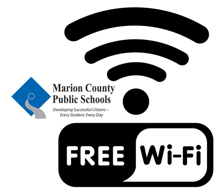 """Free """"Parking Lot WiFi"""" for students who do not have access at home"""