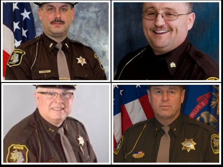 Four Northern Michigan sheriffs uphold Constitution, take stand against governor during protest