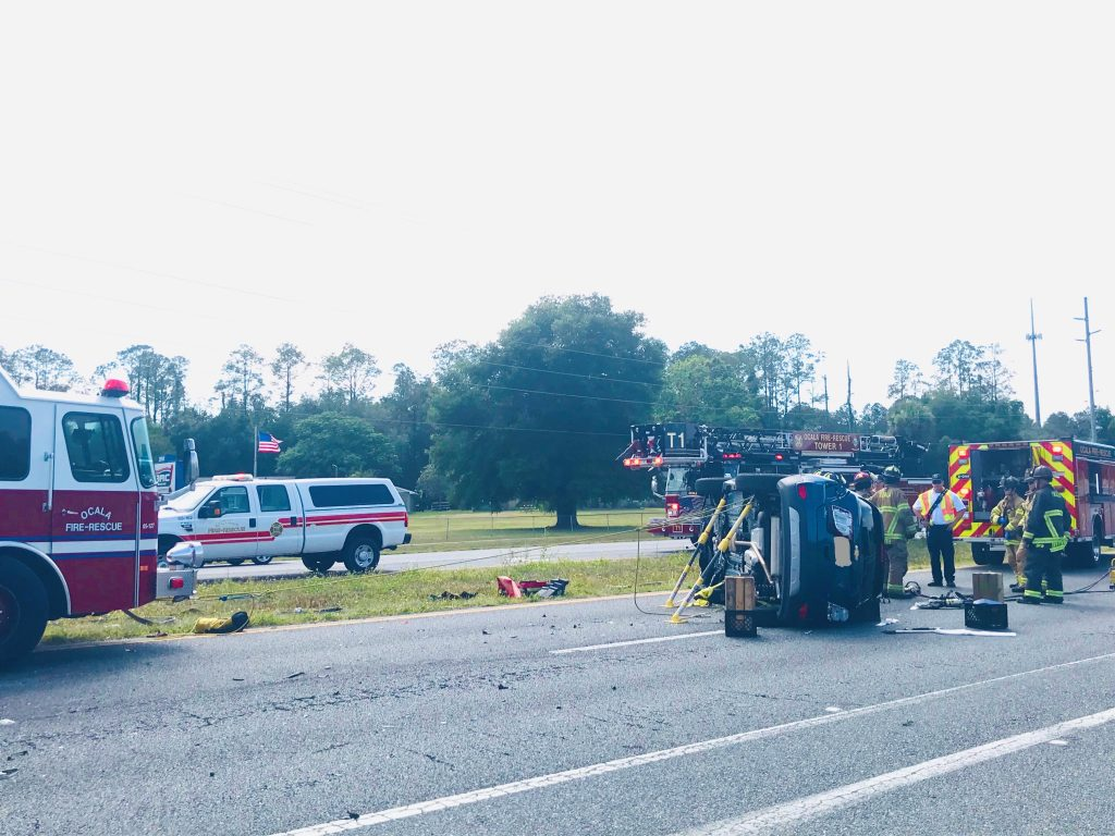 ocala news, ocala post, crash on maricamp